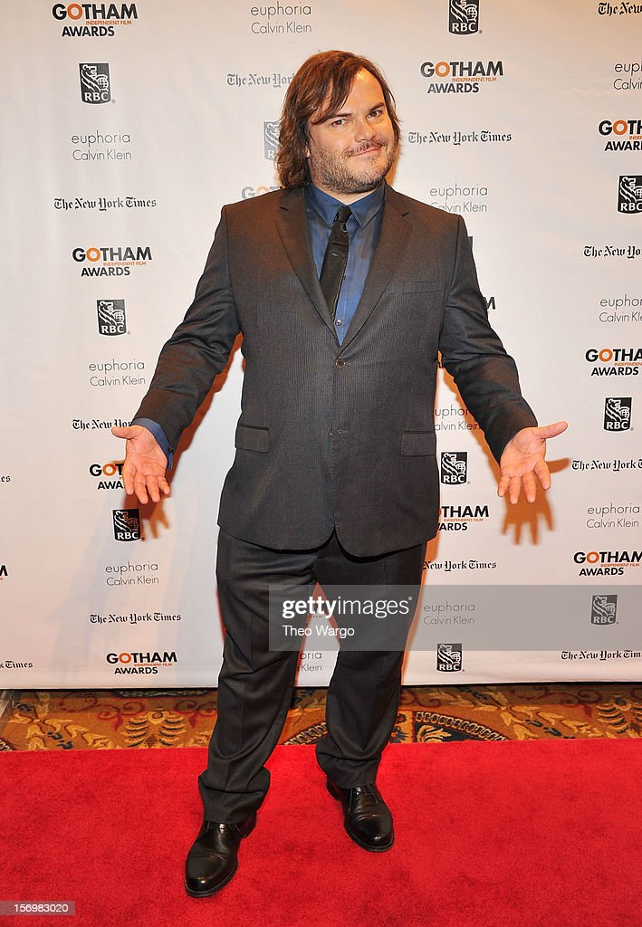 Actor Jack Black attends the IFP's 22nd Annual Gotham Independent Film Awards at Cipriani Wall Street on November 26, 2012 in New York City.
