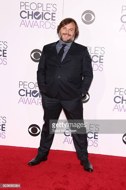 Actor Jack Black attends the People's Choice Awards 2016 at Microsoft Theater on January 6 2016 in Los Angeles California