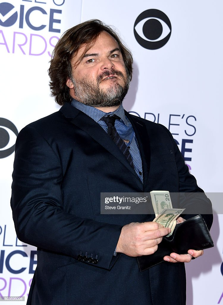 Actor Jack Black attends the People's Choice Awards 2016 at Microsoft Theater on January 6, 2016 in Los Angeles, California.
