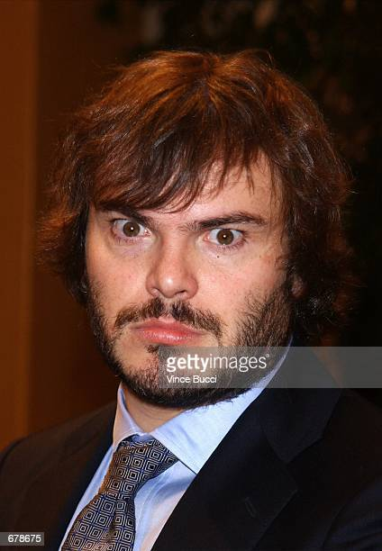 """Actor Jack Black attends the premiere of the film """"Shallow Hal"""" November 1, 2001 in Los Angeles, CA."""