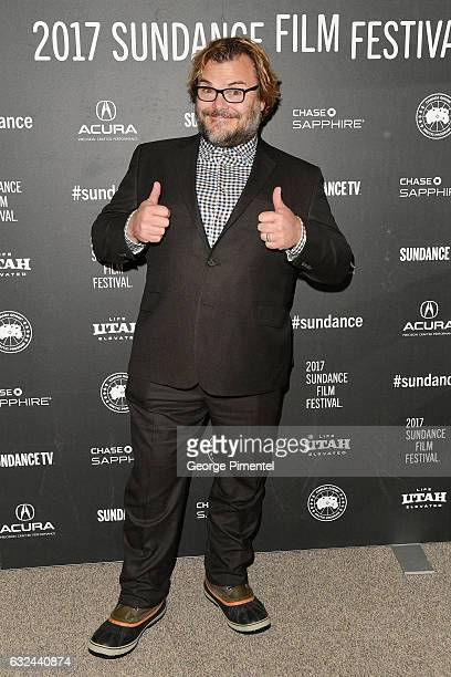 Actor Jack Black attends the 'The Polka King' Premiere on day 4 of the 2017 Sundance Film Festival at Eccles Center Theatre on January 22 2017 in...