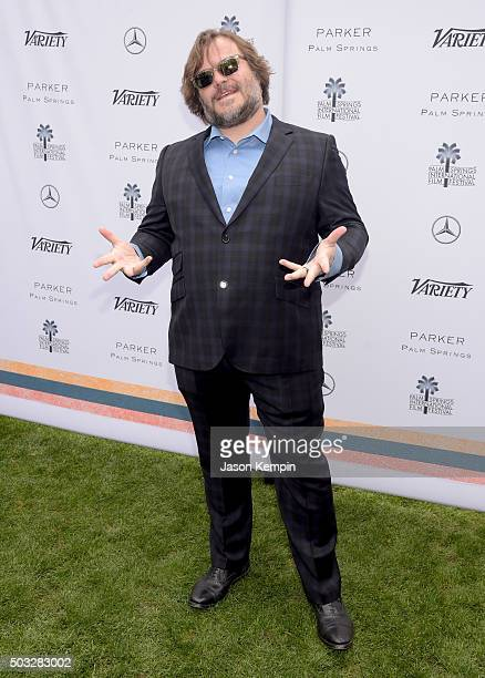 Actor Jack Black attends Variety's Creative Impact Awards and 10 Directors to Watch Brunch Presented By MercedesBenz at The 27th Annual Palm Springs...