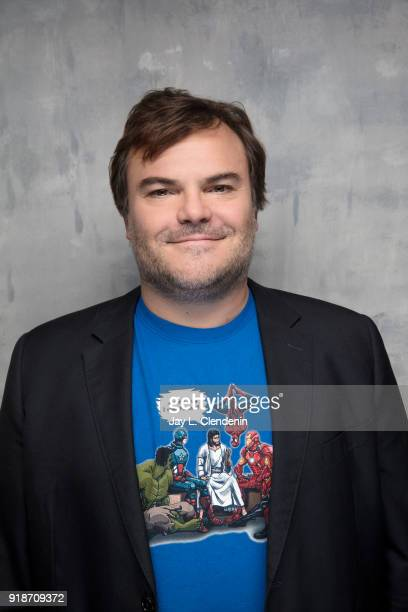 Actor Jack Black from the film 'Don't Worry He Won't Get Far on Foot' is photographed for Los Angeles Times on January 19 2018 in the LA Times Studio...