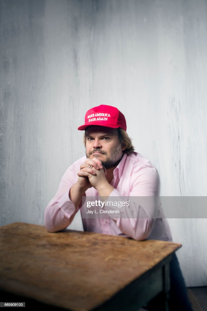 Actor Jack Black, from the film The Polka King, is photographed at the 2017 Sundance Film Festival for Los Angeles Times on January 22, 2017 in Park City, Utah. PUBLISHED IMAGE.