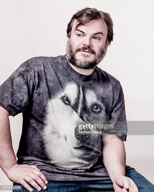 Actor Jack Black is photographed for Variety on February 3 2015 in Park City Utah