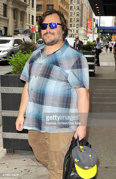 Actor Jack Black is seen on July 8 2015 in New York City