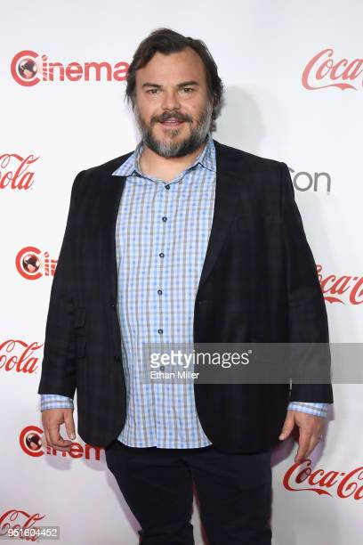 Actor Jack Black recipient of the CinemaCon Visionary Award attends the CinemaCon Big Screen Achievement Awards brought to you by the CocaCola...