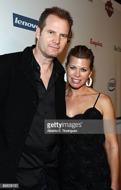 Actor Jack Coleman and his wife Beth Toussaint arrive at the Hollywood Entertainment Museum's Hollywood Legacy Awards XI honoring the cast of Heroes...
