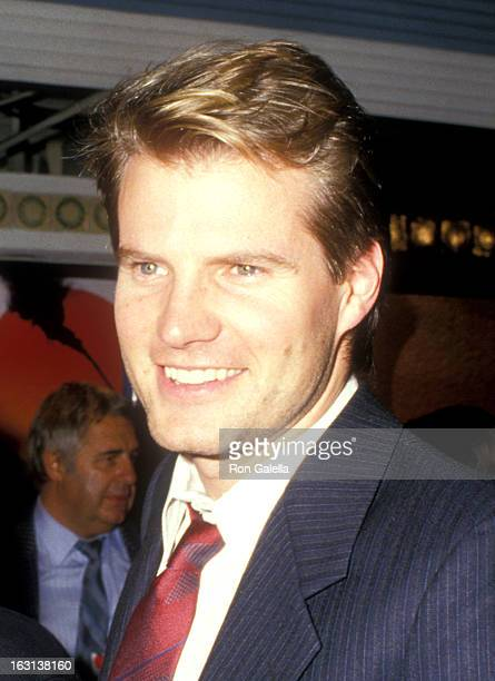 Actor Jack Coleman attends the 'Empire of the Sun' Westwood Premiere on December 8 1987 at Mann Village Theatre in Westwood California