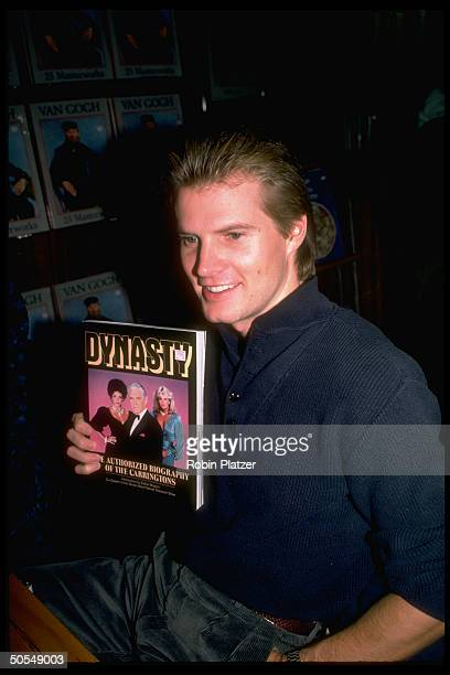 Actor Jack Coleman from the television series Dynasty