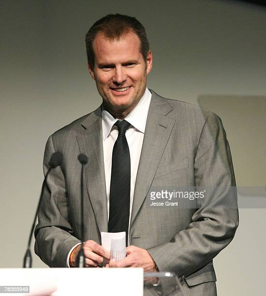 Actor Jack Coleman on stage at the 7th annual Hollywood Life Breakthrough of the Year Awards at the Music Box at the Fonda on December 9, 2007 in...