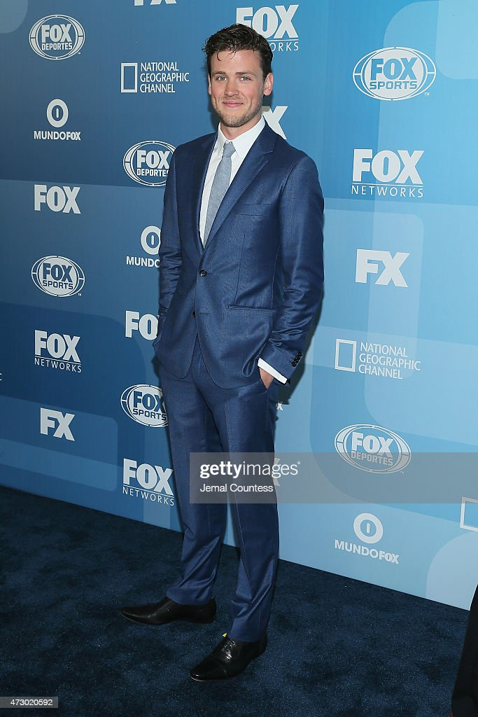 Actor Jack Cutmore-Scott attends the 2015 FOX programming presentation at Wollman Rink in Central Park on May 11, 2015 in New York City.