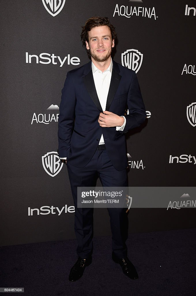 Actor Jack Cutmore-Scott attends The 2016 InStyle And Warner Bros. 73rd Annual Golden Globe Awards Post-Party at The Beverly Hilton Hotel on January 10, 2016 in Beverly Hills, California.