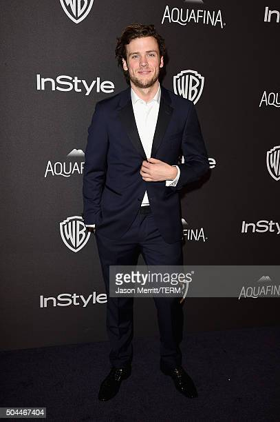 Actor Jack Cutmore-Scott attends The 2016 InStyle And Warner Bros. 73rd Annual Golden Globe Awards Post-Party at The Beverly Hilton Hotel on January...