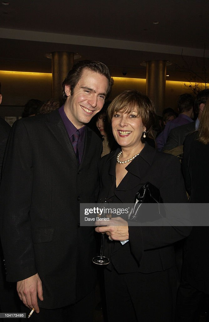 Actor Jack Davenport And Linda Belingham, At The Theatre Royal Haymarket,and The Party At The Trafalgar Hotel, London.
