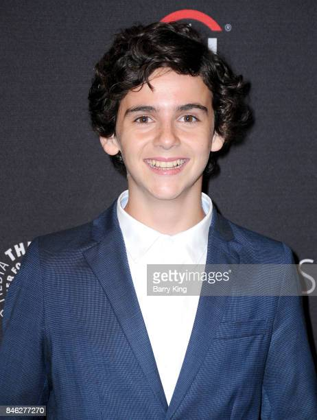 Actor Jack Dylan Grazer attends The Paley Center For Media's 11th Annual PaleyFest Fall TV Previews Los Angeles for 'Me Myself and I' at The Paley...