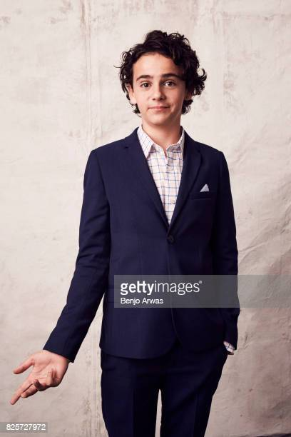 Actor Jack Dylan Grazer of CBS's ''Me, Myself, & I'' poses for a portrait during the 2017 Summer Television Critics Association Press Tour at The...