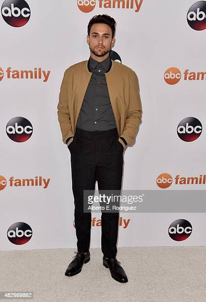 Actor Jack Falahee attends Disney ABC Television Group's 2015 TCA Summer Press Tour at the Beverly Hilton Hotel on August 4 2015 in Beverly Hills...