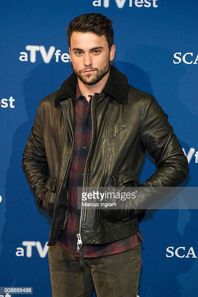 Actor Jack Falahee attends 'How to Get Away With Murder' event during SCAD aTVfest 2016 Day 3 at the SCADShow Performing Arts Theater on February 6...
