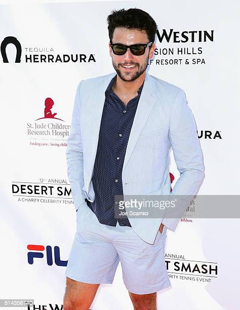 Actor Jack Falahee attends the 12th Annual Desert Smash Benefitting St Jude Children's Research Hospital presented by Tequila Herradura on March 8...