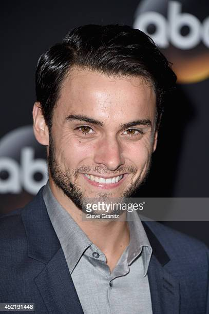 Actor Jack Falahee attends the Disney/ABC Television Group 2014 Television Critics Association Summer Press Tour at The Beverly Hilton Hotel on July...