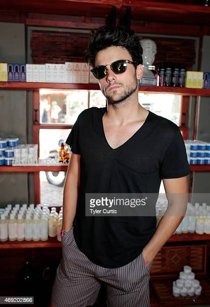 Actor Jack Falahee attends The Retreat At The Sparrows Lodge on April 10 2015 in Palm Springs California
