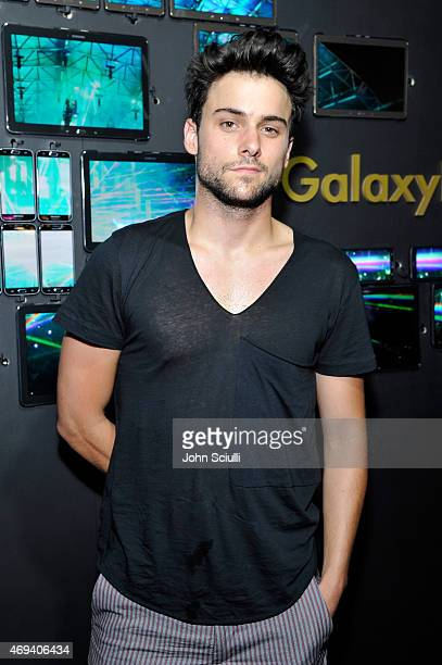 Actor Jack Falahee attends the Samsung Galaxy Owner's Lounge at Coachella Valley Music and Arts Festival 2015 on April 11 2015 in Indio California