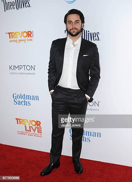Actor Jack Falahee attends the TrevorLIVE Los Angeles 2016 fundraiser at The Beverly Hilton Hotel on December 4 2016 in Beverly Hills California