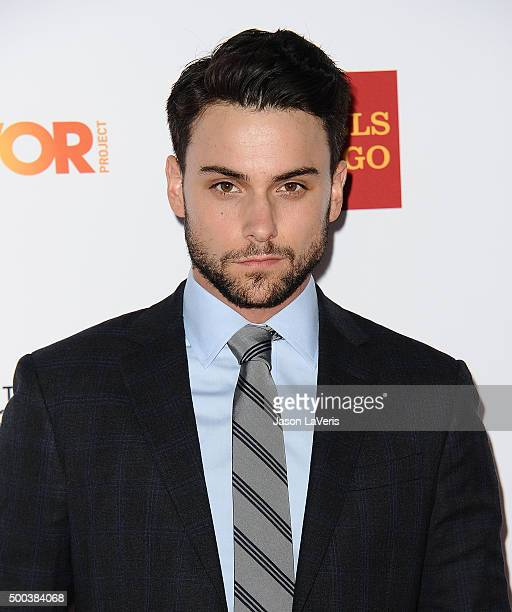 Actor Jack Falahee attends TrevorLIVE LA 2015 at Hollywood Palladium on December 6 2015 in Los Angeles California