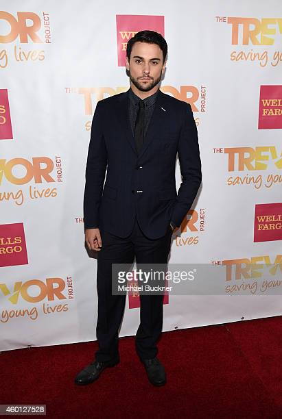 Actor Jack Falahee attends 'TrevorLIVE LA' Honoring Robert Greenblatt Yahoo and Skylar Kergil for The Trevor Project at Hollywood Palladium on...