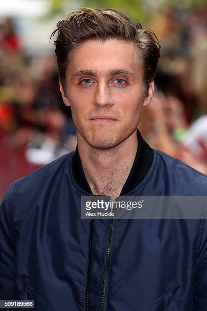 Actor Jack Farthing attends a preview screening for series two of BBC drama 'Poldark' at the White River Cinema on September 4 2016 in St Austell...