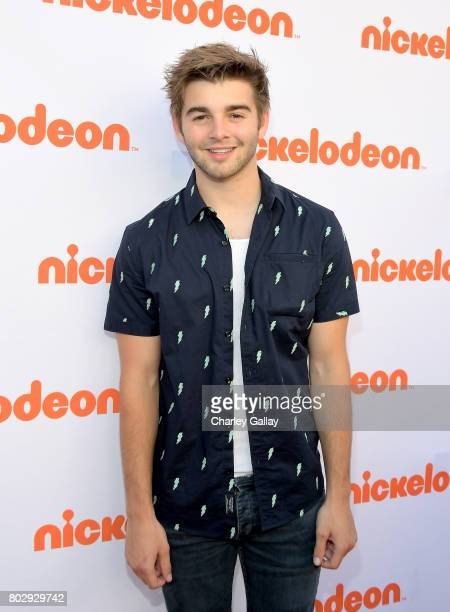 Actor Jack Griffo celebrates the 100th episode of Nickelodeon's The Thundermans at Paramount Studios on June 28 2017 in Hollywood California