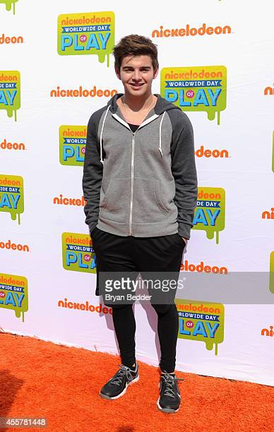 Actor Jack Griffo of The Thundermans attends Nickelodeon's 11th Annual Worldwide Day of Play at Prospect Park on September 20 2014 in New York City