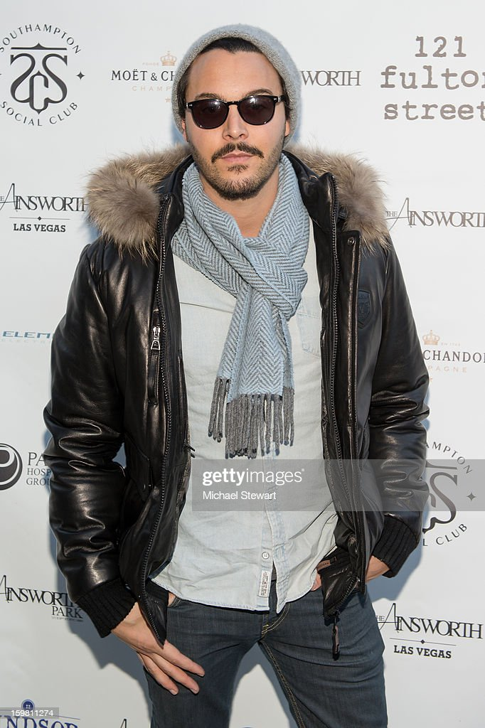 Actor Jack Houston attends Paige Hospitality Game Watch at Sky Bar on January 20, 2013 in Park City, Utah.