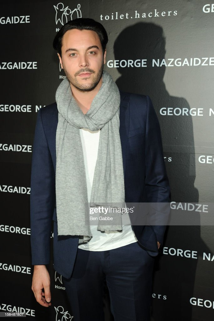 Actor Jack Huston attends Charity Meets Fashion Holiday Celebration Honoring The World's Children at Affirmation Arts on December 17, 2012 in New York City.