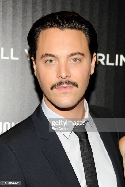 """Actor Jack Huston attends The Cinema Society and Johnston & Murphy host a screening of Sony Pictures Classics' """"Kill Your Darlings"""" at the Paris..."""