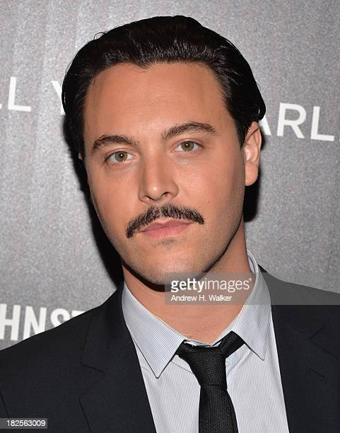 Actor Jack Huston attends The Cinema Society and Johnston Murphy screening of Sony Pictures Classics' Kill Your Darlings at Paris Theater on...