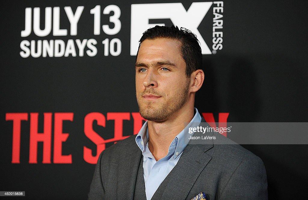 FX's 'The Strain' - Los Angeles Premiere : News Photo