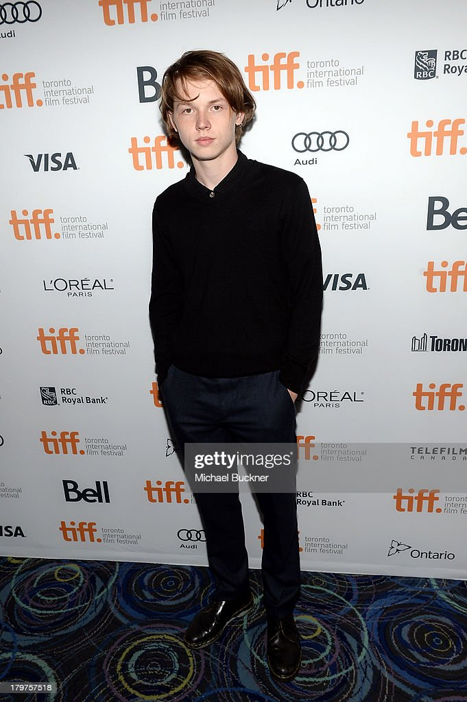 Actor Jack Kilmer arrives at the 'Palo Alto' premiere during the 2013 Toronto International Film Festival at Scotiabank Theatre on September 6, 2013 in Toronto, Canada.