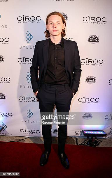 Actor Jack Kilmer attends the 'Len and Company' Party during the 2015 Toronto International Film Festival at Byblos on September 11 2015 in Toronto...