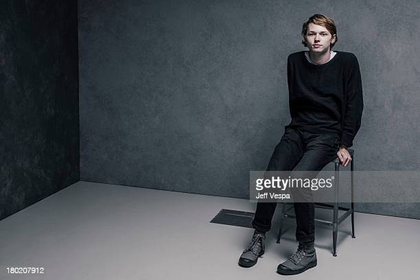 Actor Jack Kilmer is photographed at the Toronto Film Festival on September 7 2013 in Toronto Ontario