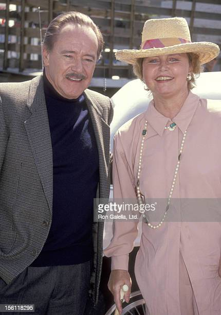 Actor Jack Lemmon and Actress Lee Remick attend the Hollywood Walk of Fame Star Ceremony Honoring Lee Remick on April 29 1991 at 6104 Hollywood...