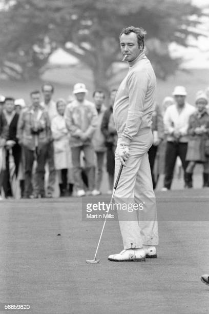 Actor Jack Lemmon looks on during the Bing Crosby National ProAm circa 1970's in Pebble Beach California
