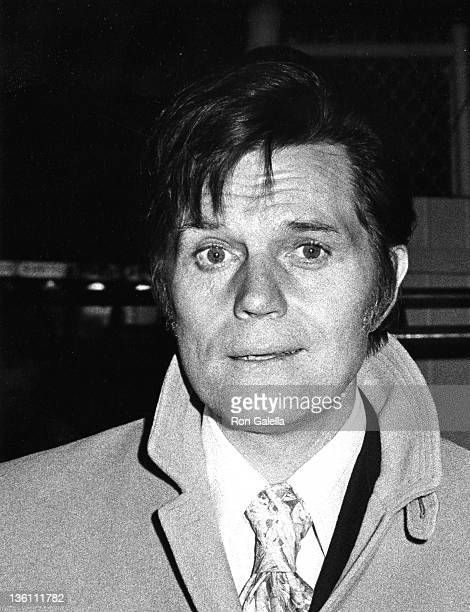 Actor Jack Lord sighted on January 1 1972 at CBS TV Studios in Los Angeles California