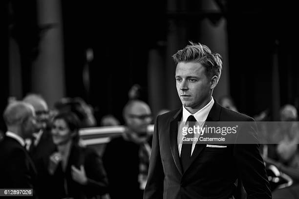 Actor Jack Lowden attends the 'A United Kingdom' Opening Night Gala screening during the 60th BFI London Film Festival at Odeon Leicester Square on...