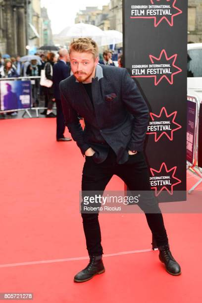 Actor Jack Lowden attends the world premiere for 'England is mine' and closing event of the 71st Edinburgh International Film Festival at Festival...