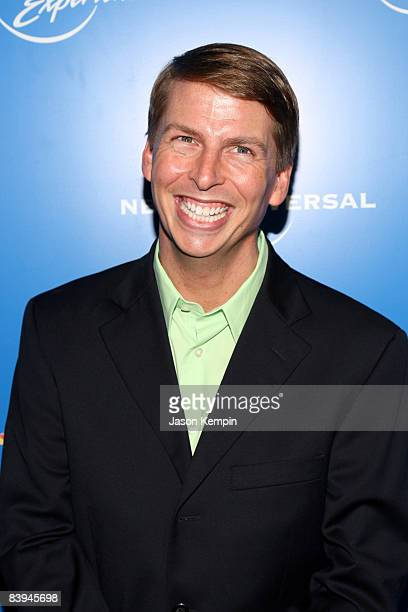 Actor Jack McBrayer attends the NBC Universal Experience at Rockefeller Center on May 12 2008 in New York City