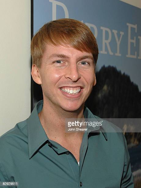 LOS ANGELES CA SEPTEMBER 20 Actor Jack McBrayer attends the Perry Ellis And Vanity Fair Toast 30 Rock event at Chateau Marmont on September 20 2008...
