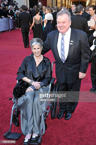 Actor Jack McGee and guest arrive at the 83rd Annual Academy Awards held at the Kodak Theatre on February 27 2011 in Los Angeles California