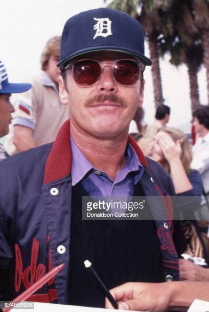 Actor Jack Nicholson at the SAG and AFTRA Actors On Strike circa 1980 in Los Angeles California